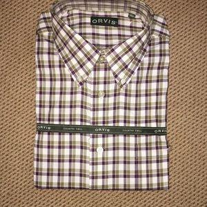 Orvis  NEW! plaid shirt